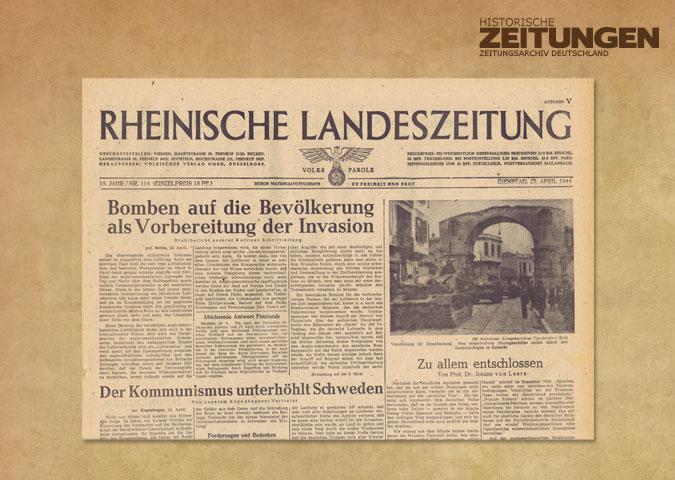 Tageszeitung Köln